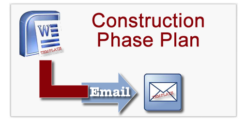 Construction phase plan templates for Cdm construction phase plan template